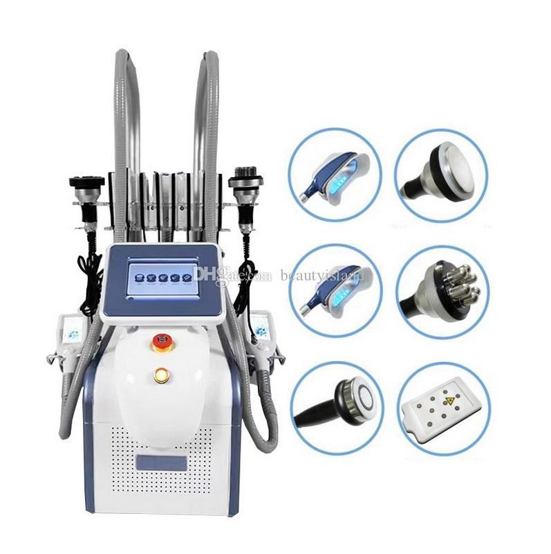초음파 Cavitation RF Lipo 레이저가있는 전문 360도 Cryolipolysis Fatzing 더블 턱 지방 제거 기계