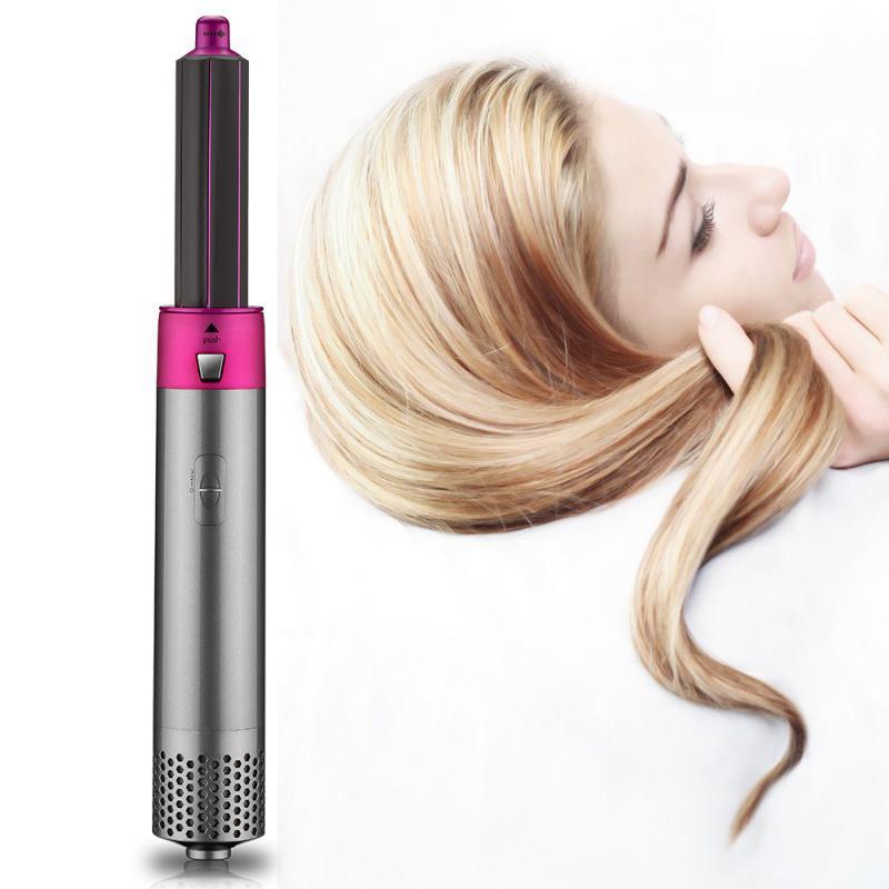 Pennelli per capelli elettrici 5 in 1 step asciugatrice volumizzatore rotante Asciugacapelli raddrizzatore pettine per la spazzola per la spazzola per lo strumento styling