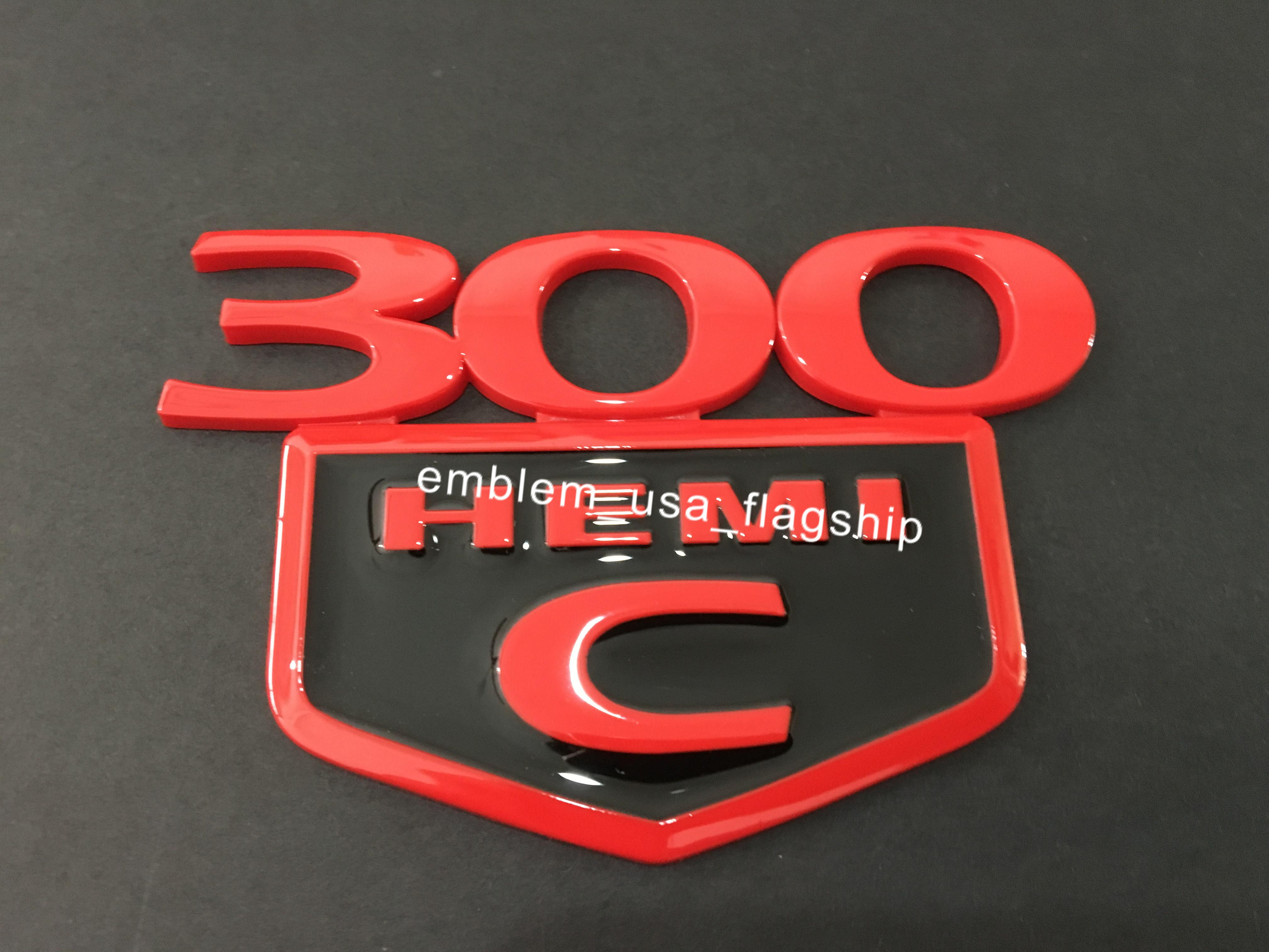 1 قطعة 300C هو مي شعار شارة جذع decklid ل كرايسلر