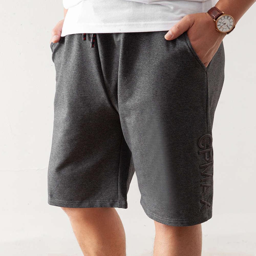 Curta engorda além de tamanho casual shorts verão gordura médio homens de esportes Capris Pants 6xl 1902