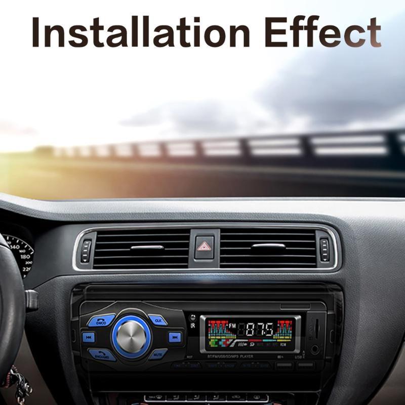 & MP4 Players Car MP3 Player SWM-616 Audio USB AUX FM Radio BlueTooth-compatible Receiver Steering Wheel Remote Control