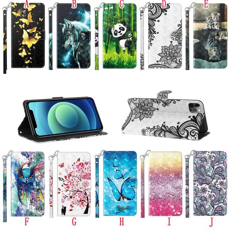 3d bling кошелек кожаные чехлы для samsung a02s a52 5g a72 a51 a70s a71 moto g8 plus e6 play lg k40s google pixel 4 xl мультфильм цветок стенд