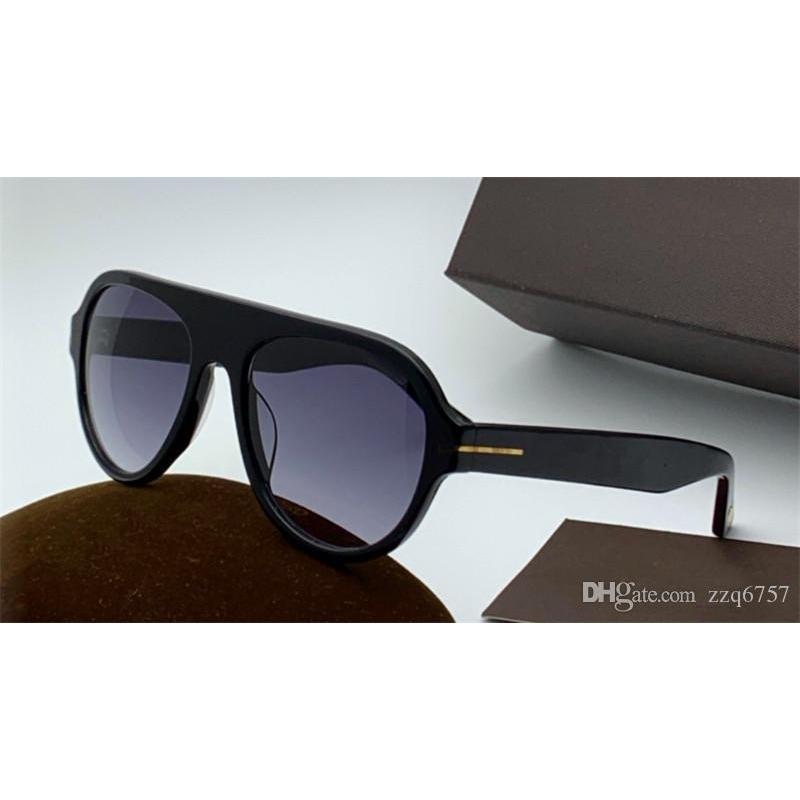 New Fashion Designer Sunglasses 0792 Pilots Frame Classic Fram Simple Popolare stile UV400 Eyewear per uomo per uomo