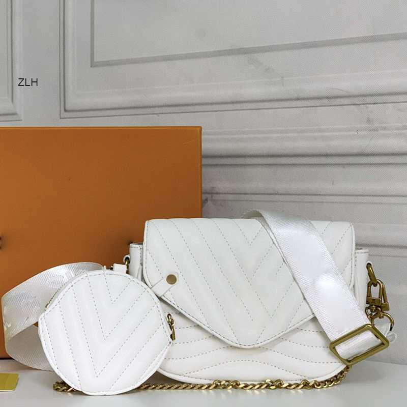 2021 Nuevo Moda Versátil Bolsos Bolso Mujeres Diseñadores Colores Cadena suave Letra 4 Bolsas pequeñas Lujos de lujo Decoración de cuero HA PMAMC