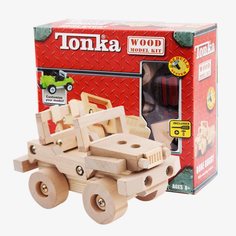 2021 Mini Modelos de madera Juguetes para niños Educativos Early Intelligent Handcraft Accesorios Montaje Kit de ensamblaje Juguete como Niños Regalo