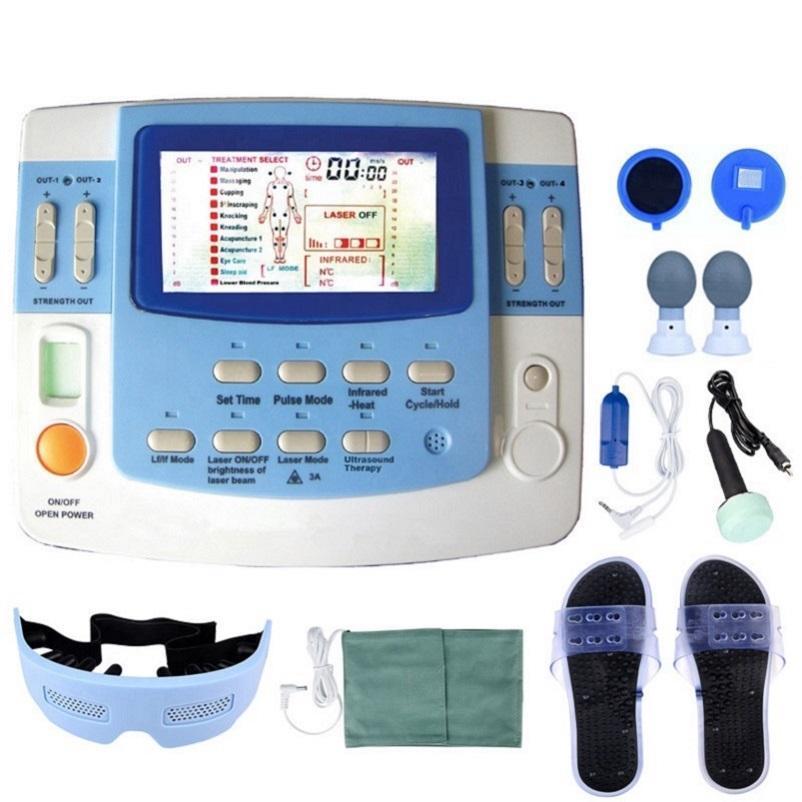 Massageador de corpo inteiro TENS EMS Estimulador Multifuncional Multifunções Máquinas Infravermelhas Fisioterapia Equipamentos