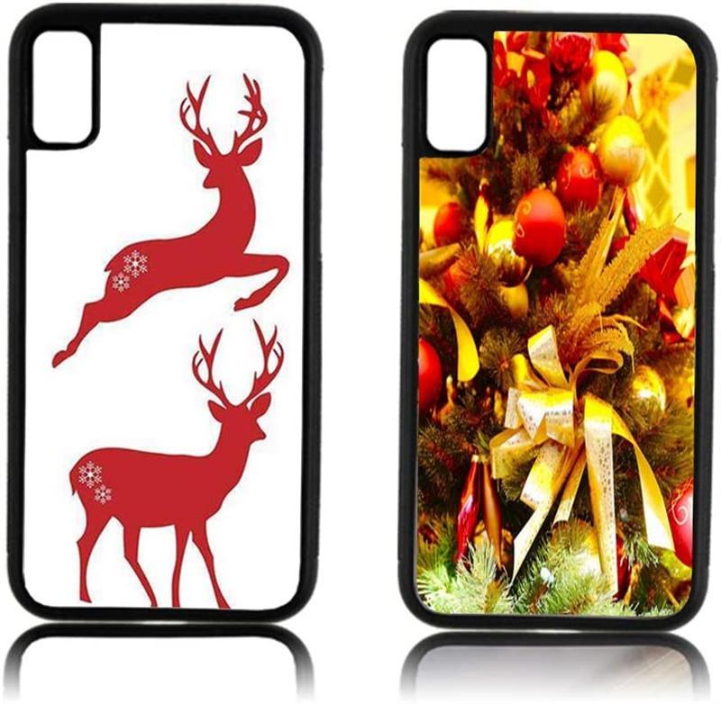 Blank 2D Sublimation TPU + PC Custodie per cellulari morbide per iPhone 12 Mini 11 Pro MAX 8 7 6S SAMSUNG S21FE S21ULTRA S21Plus con inserti in alluminio