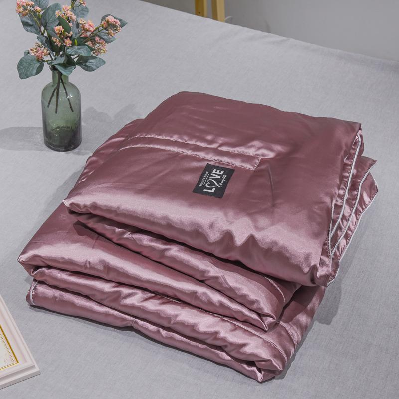 Cool Summer Quilt Washed Cotton Air-conditioning Soft Breathable Blanket Thin Solid Color Quilted Comforter Bed Cover Comforters & Sets