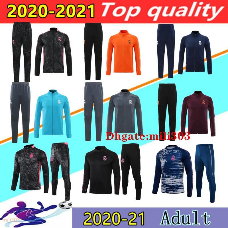 2021 Real Madrid football jacket tracksuit soccer training suit 20 21 22 HAZARD BENZEMA MODRIC camiseta de futbol Sweater jackets sweatshirt jogging