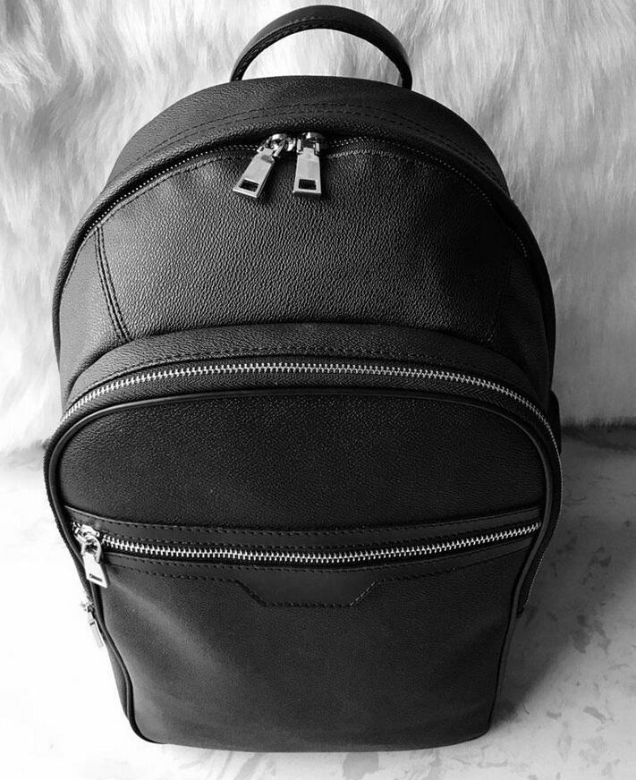 Yüksek Kaliteli Kadın Erkek Deri Tasarımcılar Sırt Çantası Omuz Çantaları Lüks Öğrenci Büyük İş Kapasiteli Çanta Açık Seyahat Çanta