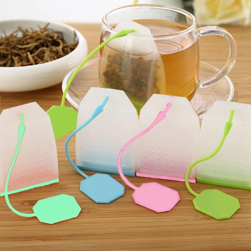 Nahrungsmittel-Silikon-Mesh-Kaffee-Tee-Werkzeuge Infuser-Sieb-Herb-Gewürzfilter-Diffusor-Tees-Infuser-Hersteller-Zubehör