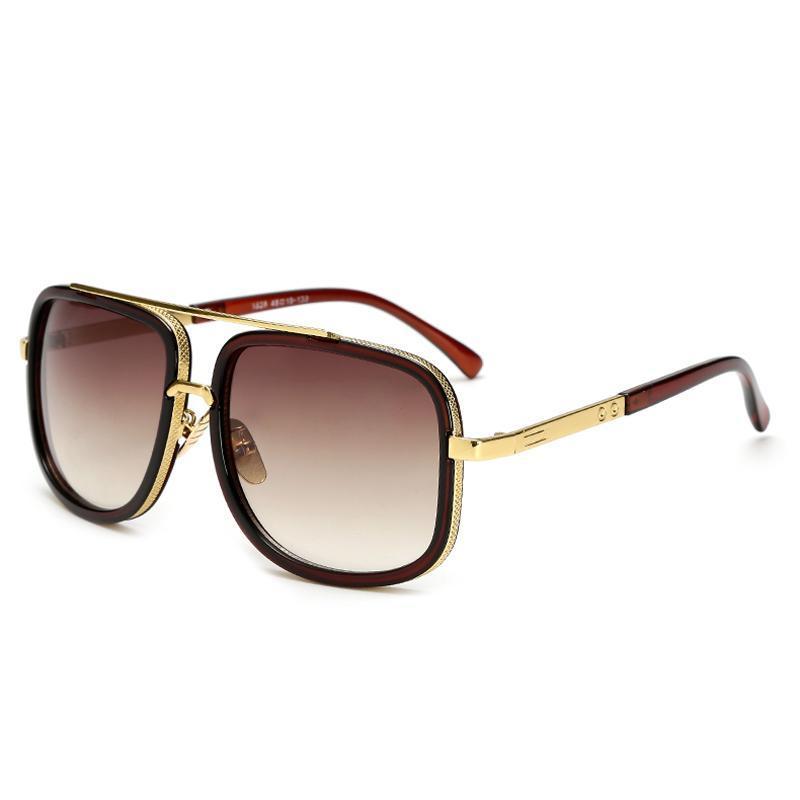 Lunettes de soleil surdimensionnées femmes lunettes de soleil lunettes carrée mâle mode rétro femme pour