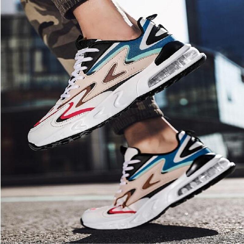 EUR39-45 أحذية الرجال الاحذية خفيفة الوزن ماراثون أحذية تنفس أحذية رياضية في الهواء الطلق المشي الرياضة