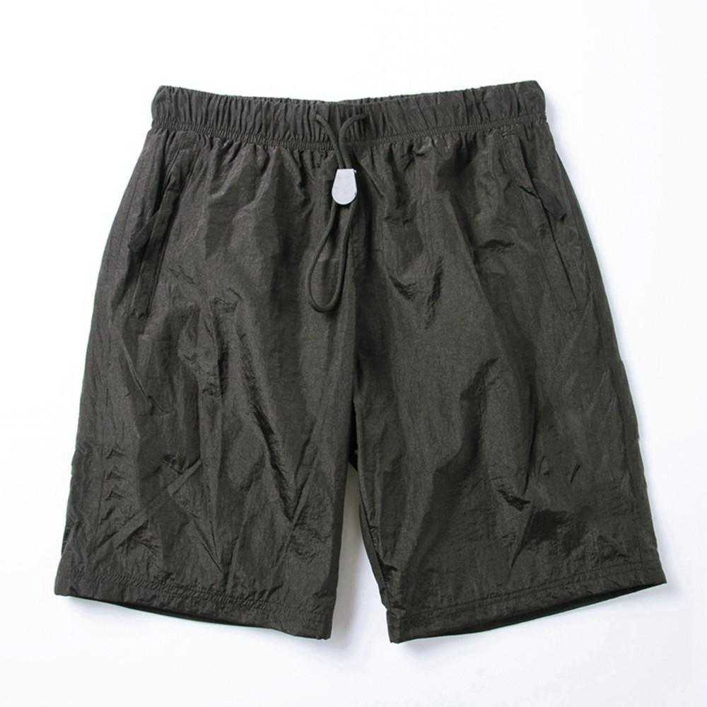 Mode Hommes's Shorts Summer Beach Pantalon Sports Broderie Lettres rapides Séchage rapide Pantalon de broderie Lettres rapides à séchage rapide Réglable Natation