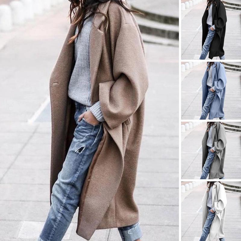 2020 Новый Hot Guyi Длинные Теплые женские пальто