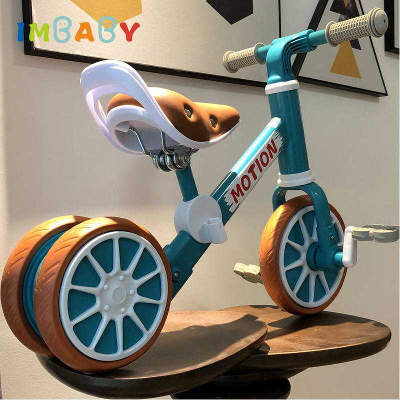 Crianças scooter triciclo criança criança equilíbrio bicicleta crianças passeio de caminhante deslizante em brinquedo indoor ao ar livre ajustáveis ajustáveis ajustáveis de presente não inflável