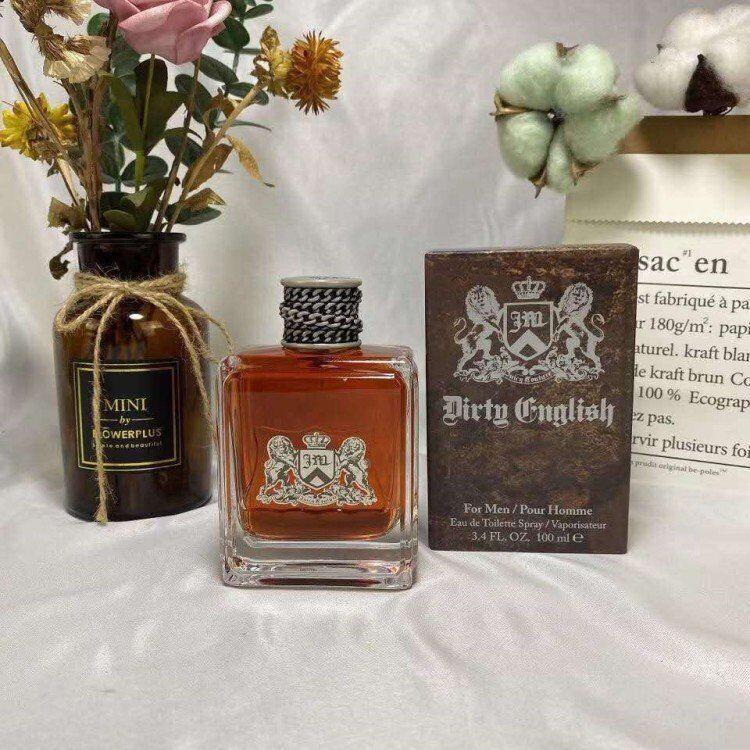 Kokulu mum kirli ingilizce 100 ml erkekler için edt parfüm kokusu dökün homme sprey uzun ömürlü erkek parfüm tütsü ev parfümleri