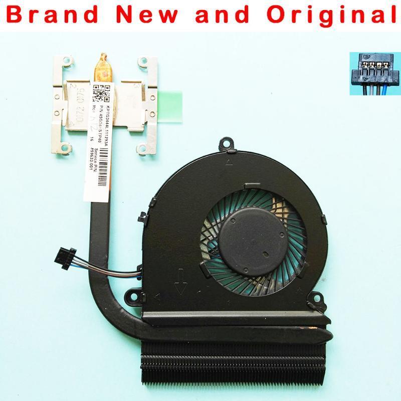 Orijinal CPU Soğutucu 15-AU 15-AU144TX AU145TXG34 Soğutucu Fan Radyatör 859633-001 Entegre Grafik Dizüstü Soğutma Pedleri