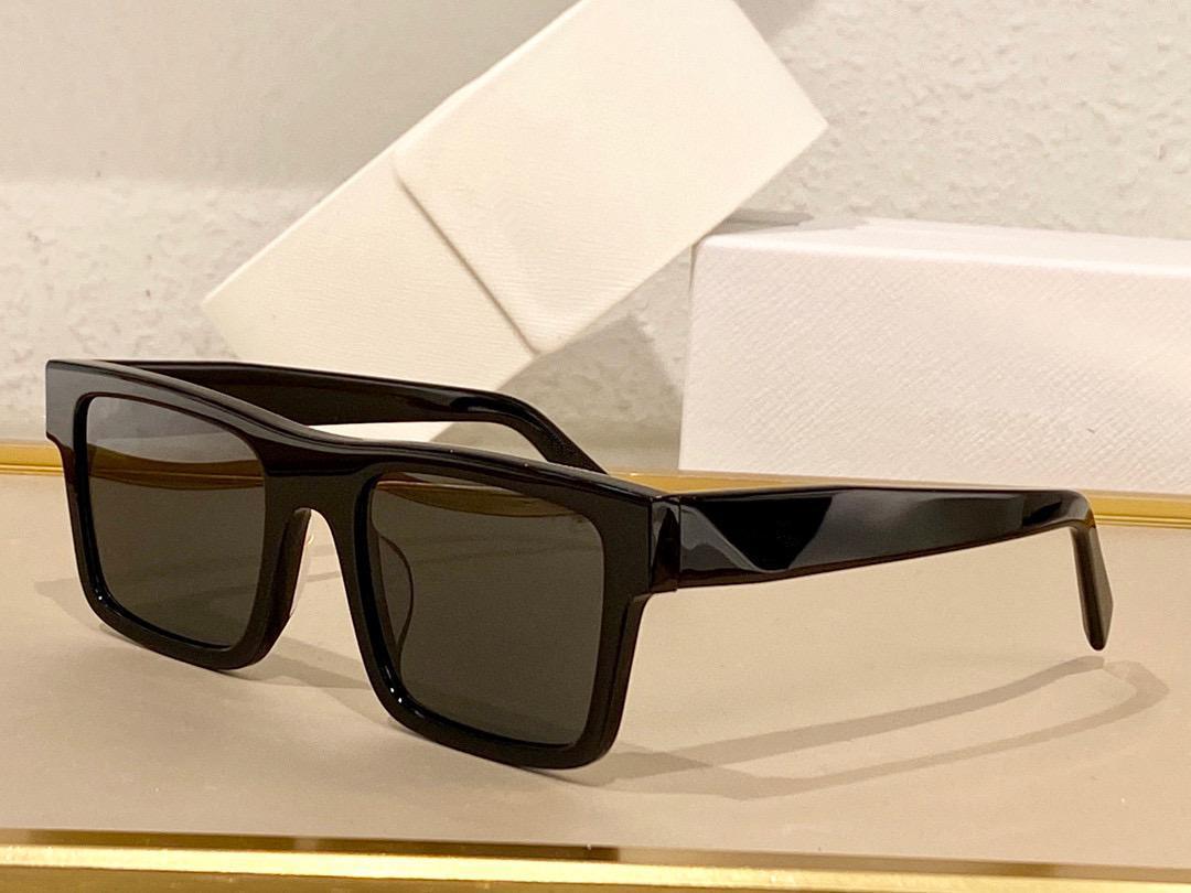 Sunglasses For Men and Women Summer style SPR19WF Anti-Ultraviolet Retro Plate Square Full frame fashion Eyeglasses Random Box