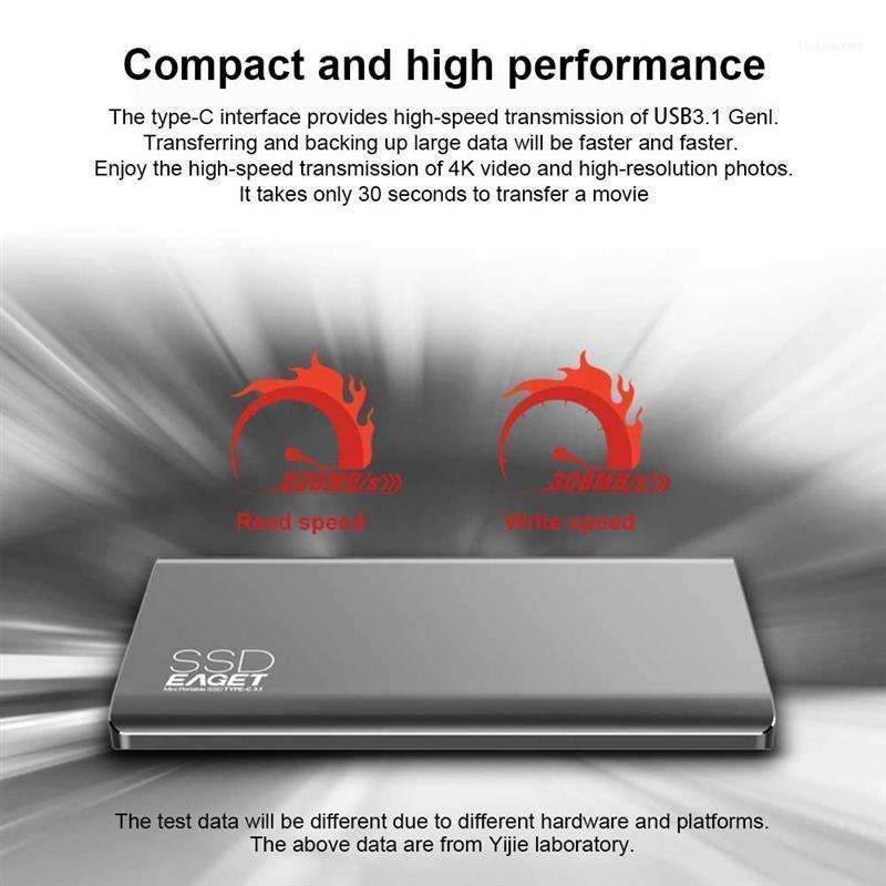 Eaget M1 Type C External SSD 1TB High Speed USB 3.0 Portable Hard Drive Solid State For Phone Laptop11