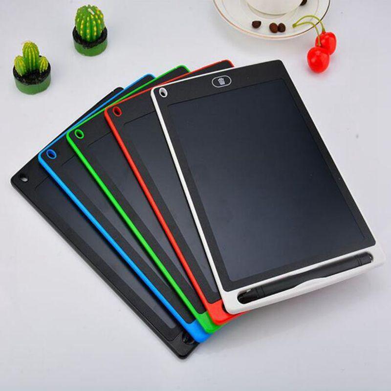8.5 pulgadas LCD escritura tableta tablero de dibujo blackboard party favor a mano almohadillas regalo para niños adultos papel sin papel tabletas nota con pluma mejorada