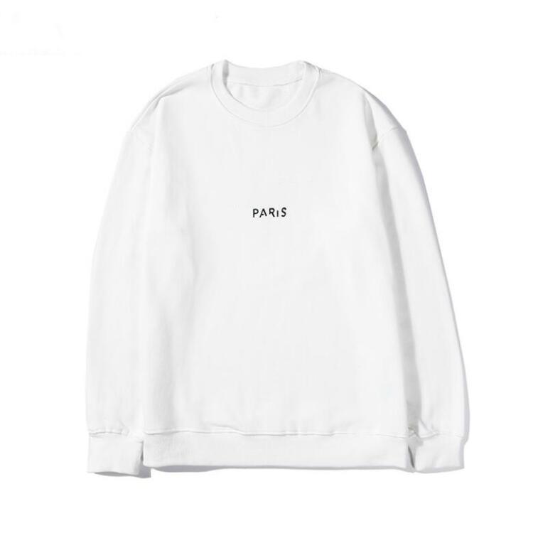 21SS Womens Mens Designers Hoodies 패션 까마귀 남자 긴 소매 땀 스웨터 손상 파리 편지 인쇄 코튼 크루 넥 풀오버 남성 의류 스웨터 인쇄