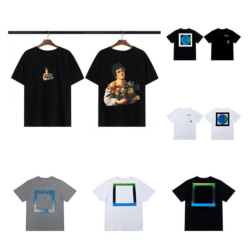Moda Homens Camiseta Verão Mulher Designer de boa qualidade Manga curta Unisex Hip Hop Tees Mens Roupas