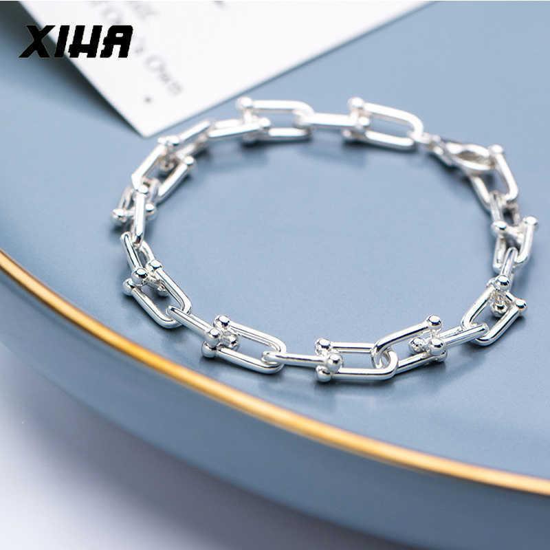 925 pulseiras de prata esterlina mulheres homens grossos corrente corrente bracelete senhoras moda luxo jóias gota atacadista fornecedor 200925