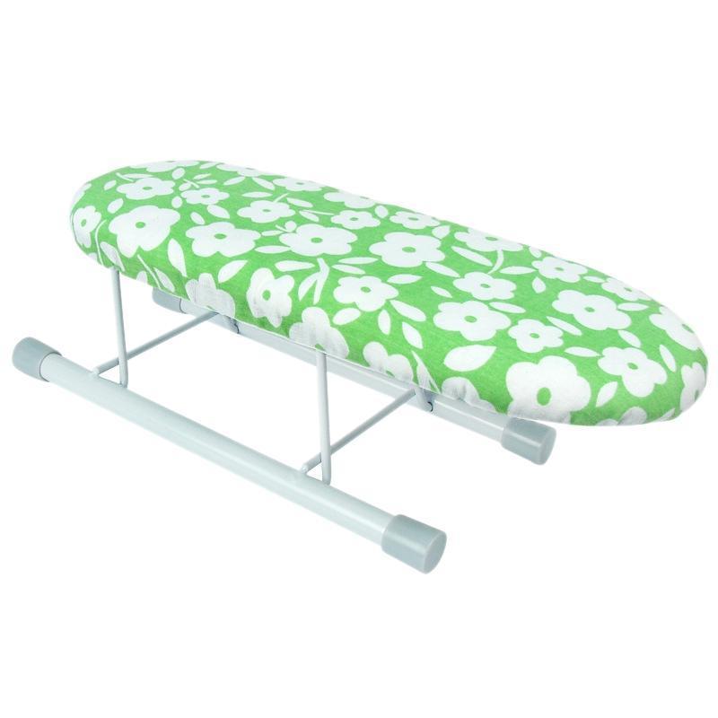 Planches à repasser Board Home Voyage Porte-manchettes portables Mini table avec pieds pliants
