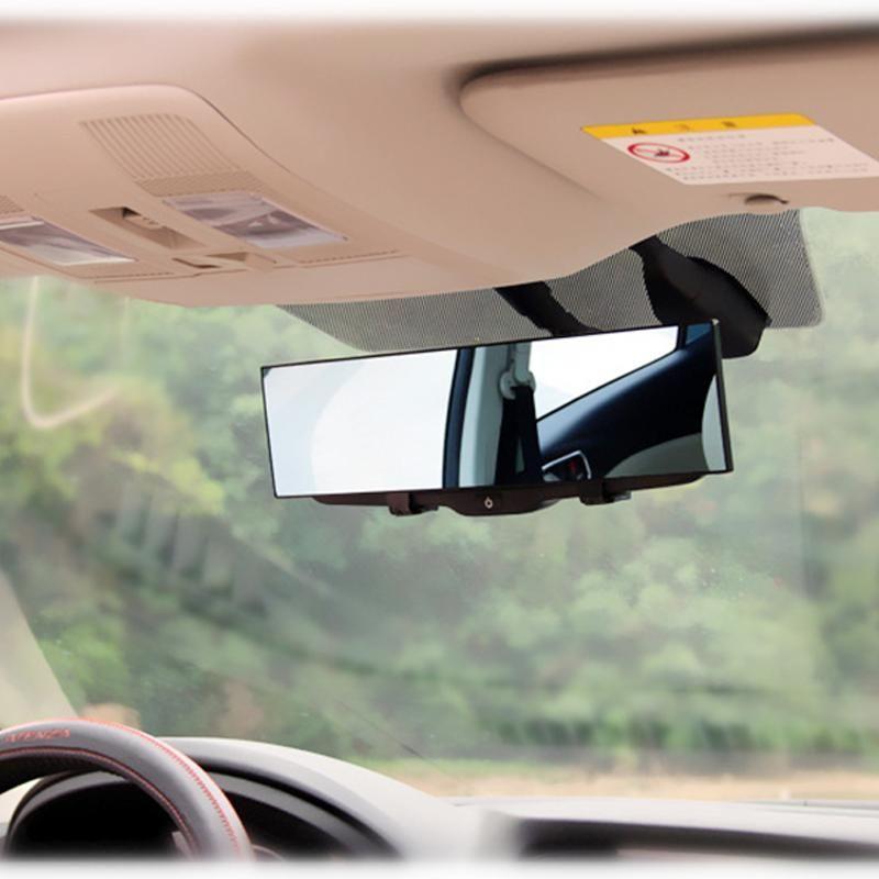 Autres accessoires intérieurs HD Voiture arrière Vue arrière Vue panoramique grand angle Auto Retour Réverbère Réverbère Référence Rétroviseurs 30cm Car-Stylin