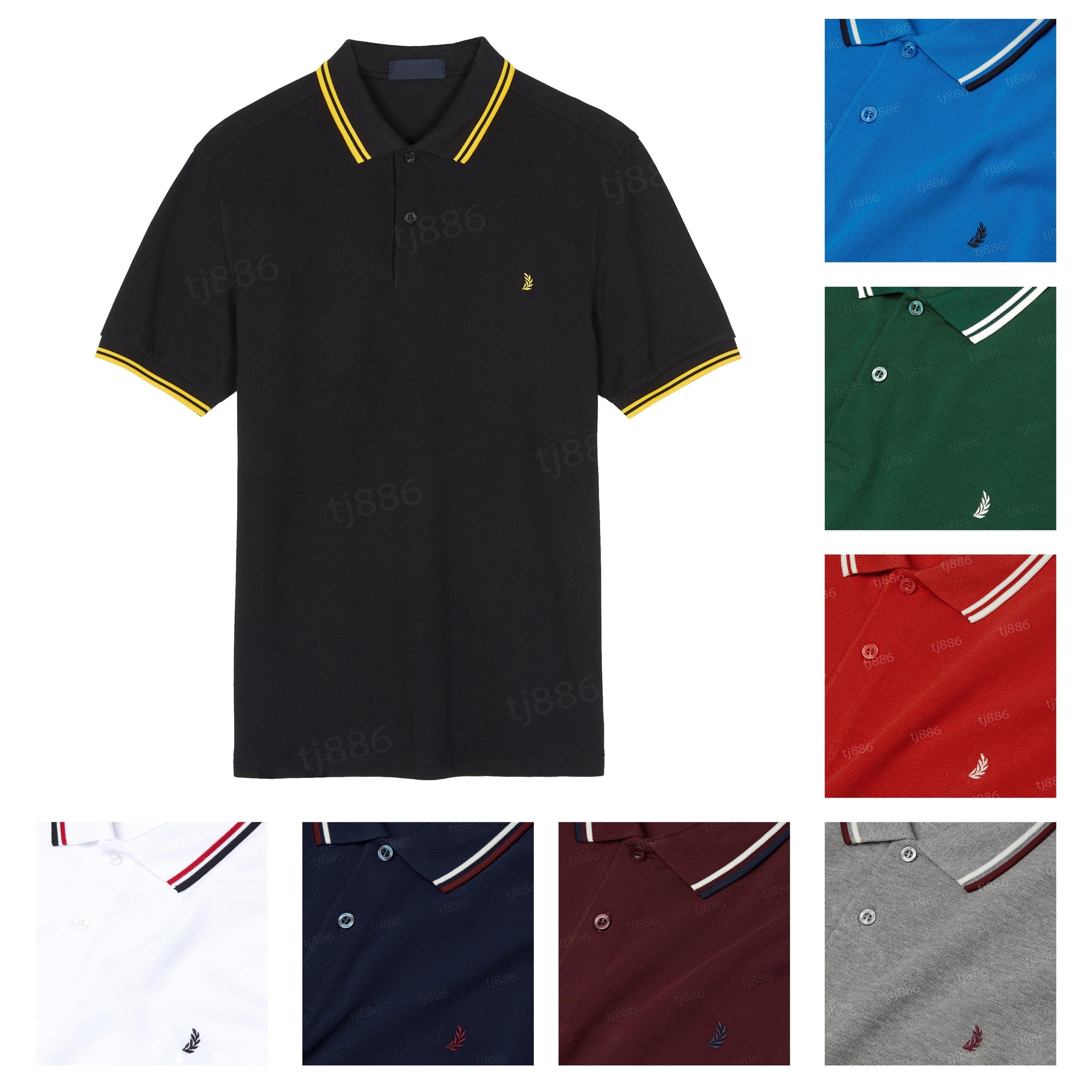 Mulheres dos homens de luxo camisetas polo camisa de alta qualidade bordado clássico casual homme mangas curtas homens algodão confortável tendência verão