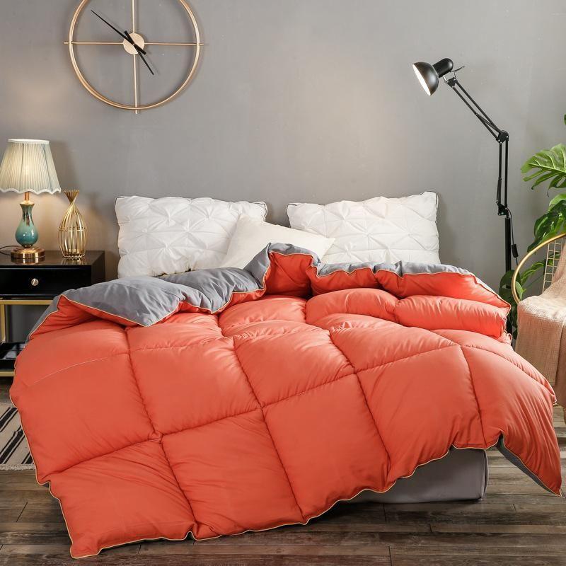 Bettdecken Sets 2021autumum und Winter Bettdelse Colorvelvet Mo Mao bei dicker Quiltquilt-Bettdecke