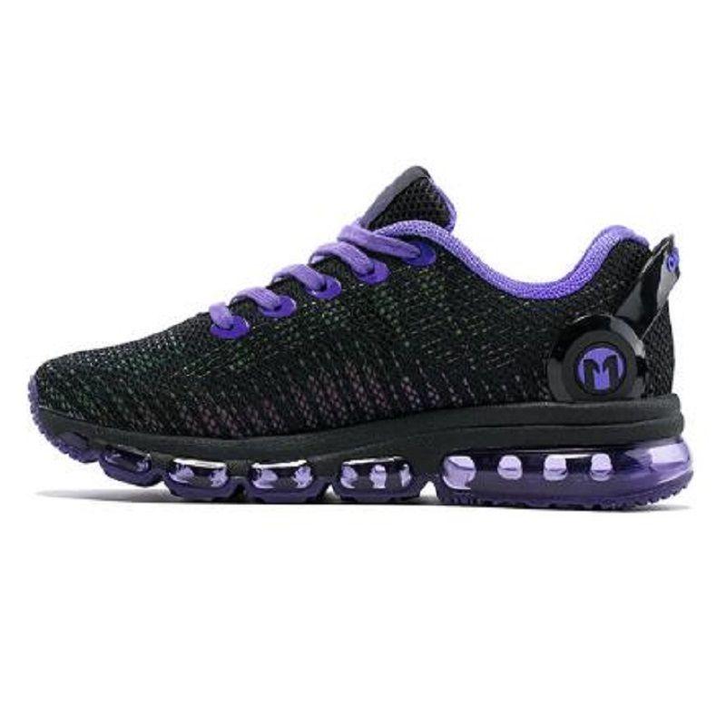 المرأة الرياضة الاحذية الصيف أحذية رياضية تنفس شبكة في الهواء الطلق وسادة الهواء الركض أونيميكس الرجال