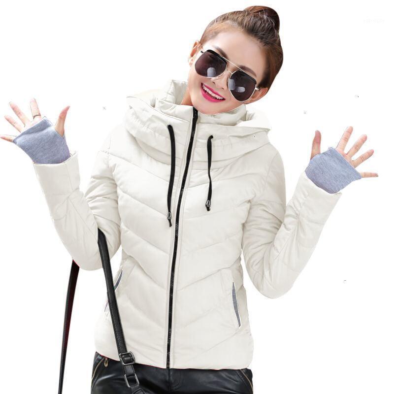Chaqueta de invierno Mujeres Talla grande 2019 Nuevo Ucrania 3xl para mujer de algodón de algodón chaquetas más gruesas con capucha Abrigo de invierno Femenino Autumn Parkas1