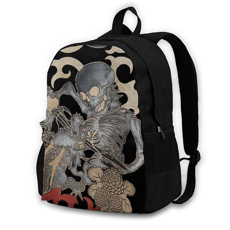 Mochila Equipo vintage Ed Hardies Y2K Cyber (3) Bolsa de alta calidad Schoolbag para mujer mujer