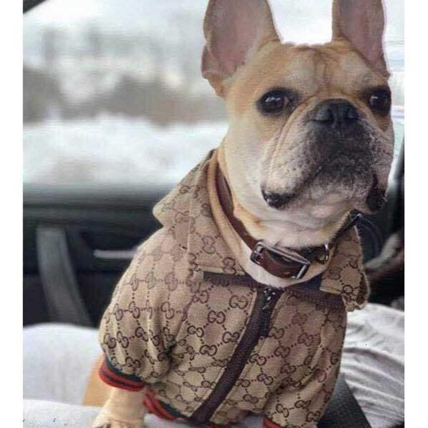Giacca Moda Law Vestiti Nuovo costume Trend Combattimento da combattimento Ricamo Pet Dog Camicia Abbigliamento Abbigliamento Maglione Collari