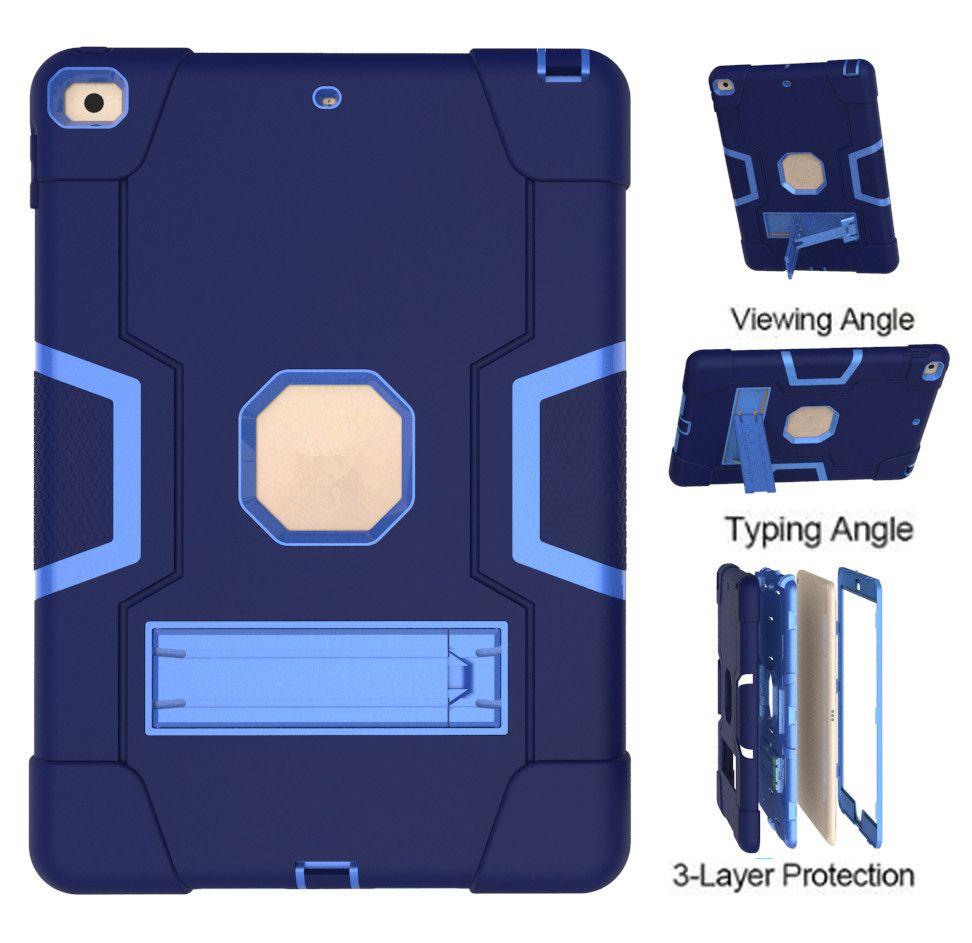 Для iPad 7-го поколения 10,2 дюйма (2019) Функции Kickstand Функции Камера Защита Камеры Ударная крышка