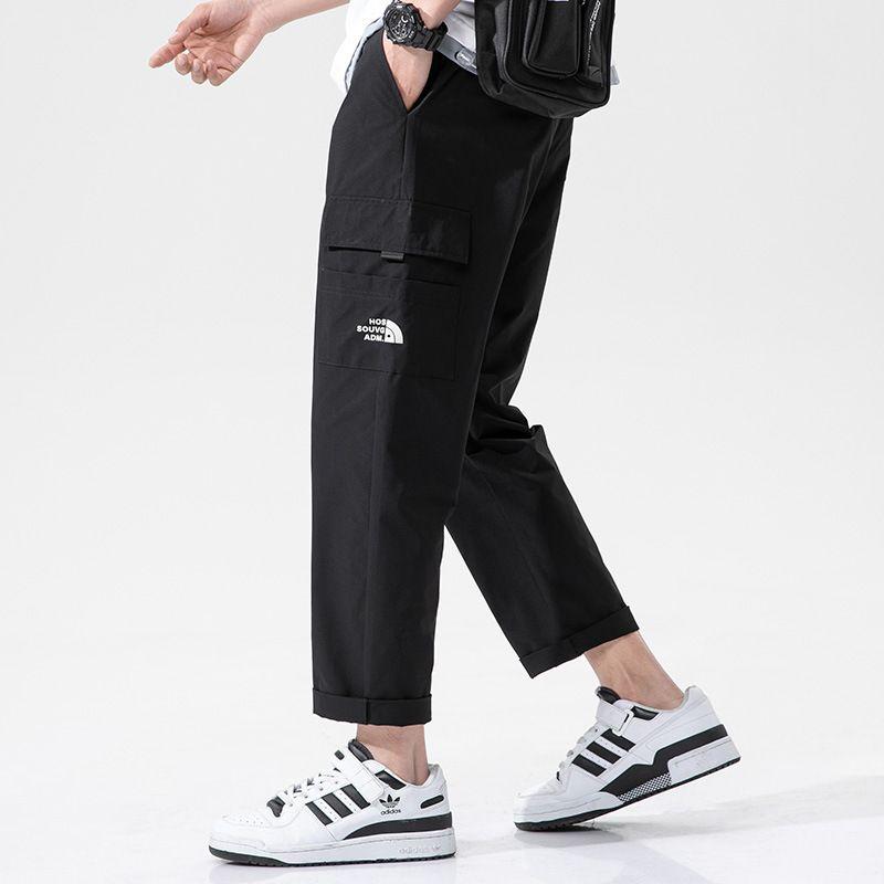 Мужские брюки Весна и осень Работа Корейский мода прямой Свободная повседневная красивая личность спортивные штаны