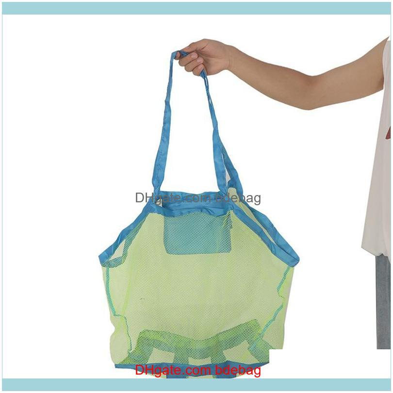 Storage Housekeeping Organization Home & Gardenoutdoor Foldable Swimming Waterproof Bag For Kids Beach Toy Mesh Tote Sport Bags Drop Deliver