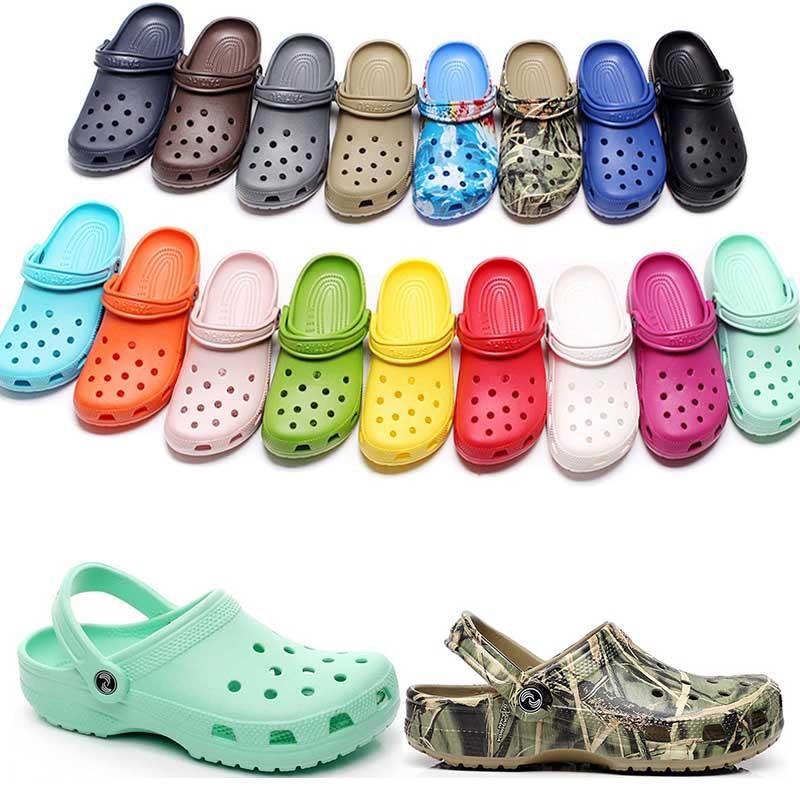36-47 캐주얼 해변 오염 방수 신발에 패션 슬립 방수 신발 남성 클래식 간호 Clog 병원 여성 슬리퍼 작업 의료 샌들 90