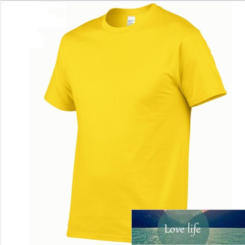 Fashion Casual Cute T-shirt Pure color cotton T-shirt for men and women