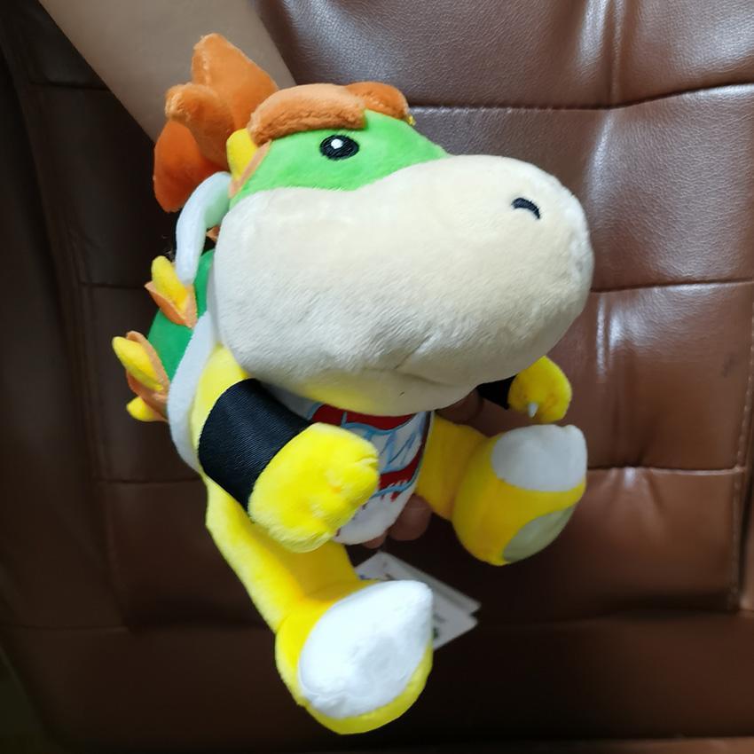 Bowser Koopa 플러시 박제 동물 장난감 아기 선물 18cm.