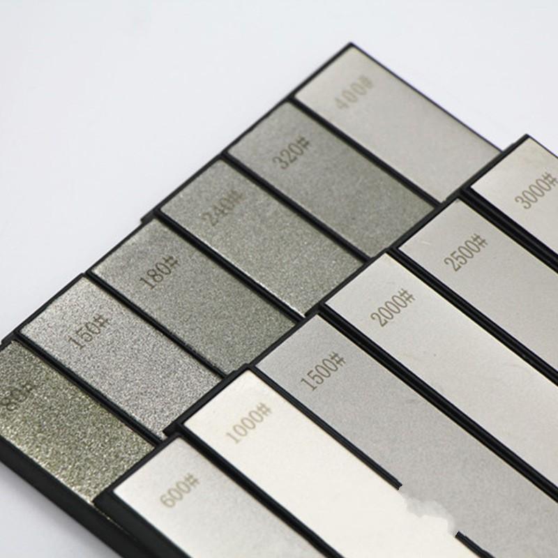 Diamond Whetstone System Pharing Stone для фиксированной угловой ножей Точилка для ножей 6 ПК / комплект 201026 282 S2