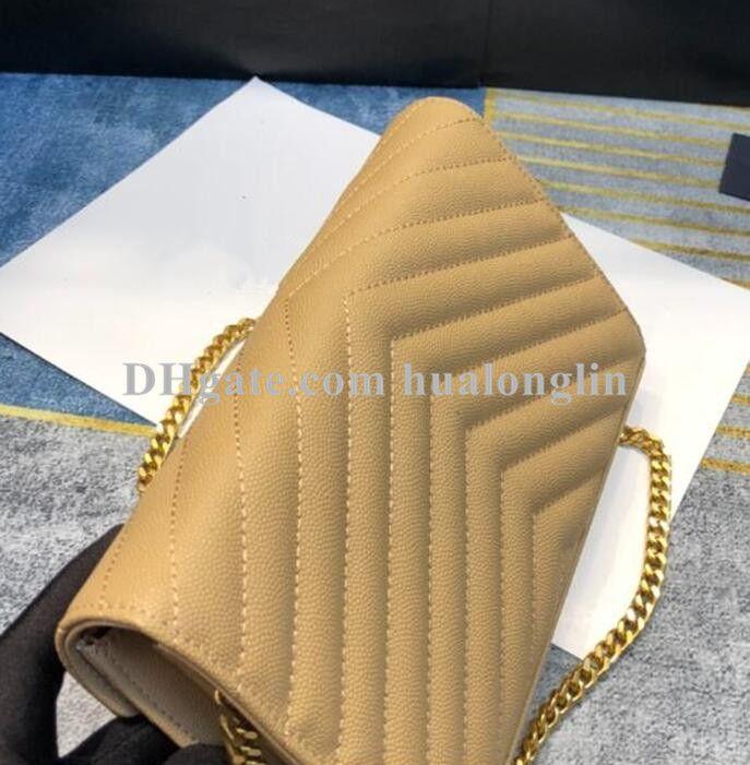 Genuine Couro Mulher Bolsa Mulheres Saco De Noite de Alta Qualidade Caixa Original Messenger Ombro Cross Body Bolfe Designer