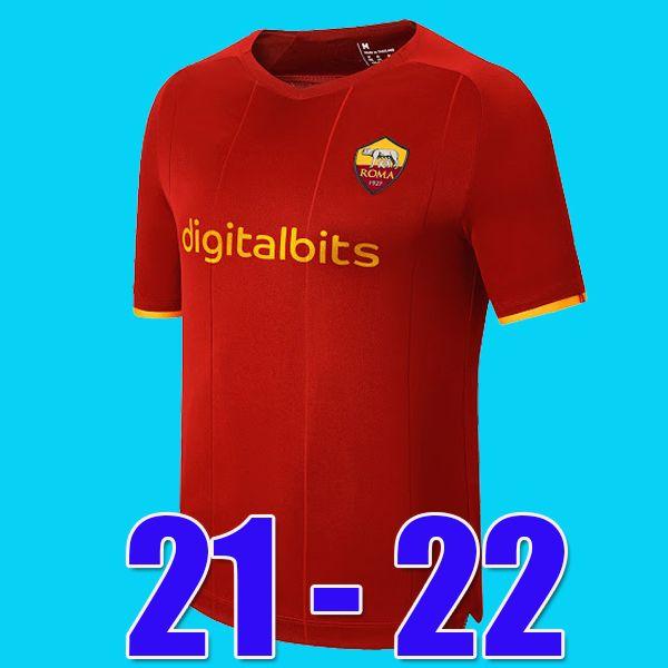 Tops Mancini Veretout B. Mayoral 2020 2021 Totti de Rossi Como Dzeko Futebol Jerseys Roma 20 21 Futebol Soccer Shirts Kits Kits Conjuntos