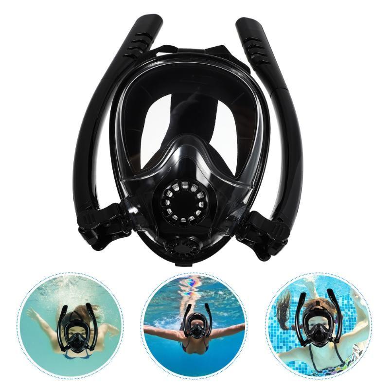Diving Masks 1 Set Snorkel Mask Adult Dive Adults Anti-Fog Swim Glasses