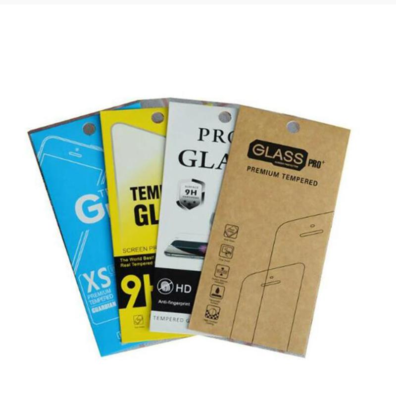 3000pcs 175*88mm Empty Retail Package Boxes Packaging for Iphone Samsung Smart Phone Premium Tempered Glass 9H Screen Protector Display Bag