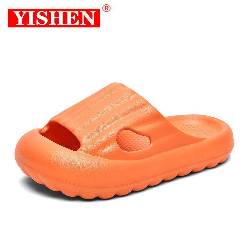 Zapatillas yishen moda niños zapatos de jardín niños y niñas Sandalias de dibujos animados Sandalias de verano Zapatillas de alta calidad para niños