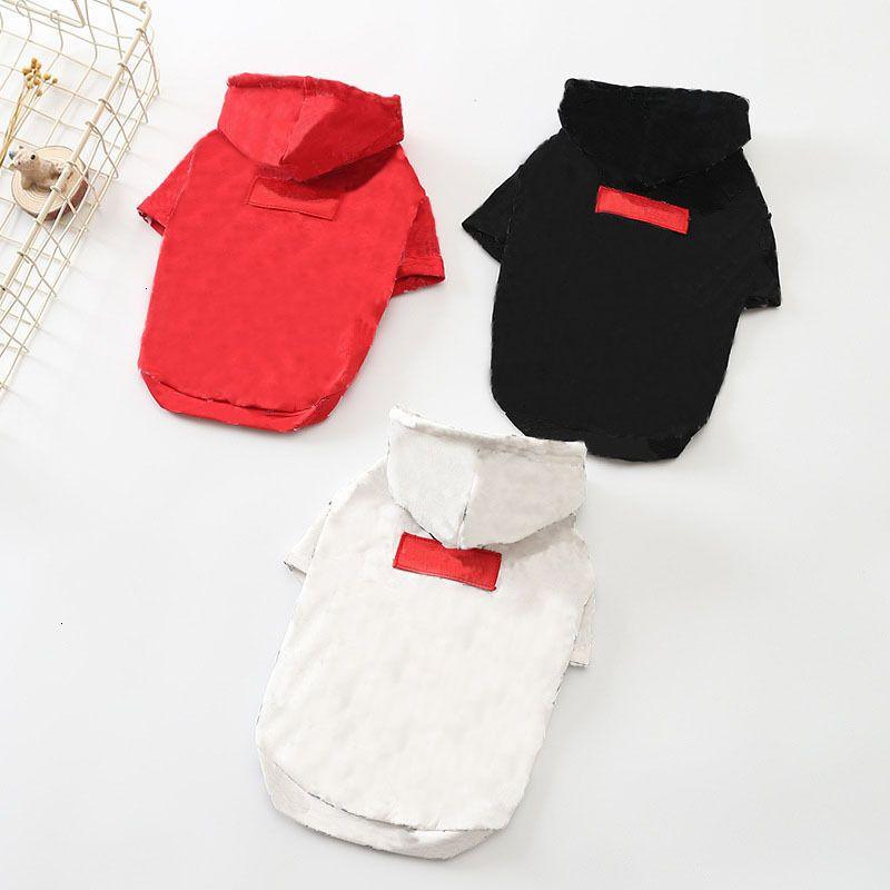 ملابس تيدي الأزياء هوديس لطيف في الهواء الطلق مطبوعة البلدغ الصغيرة شنوار الخريف الدافئة كلب جاكيتات T17Z