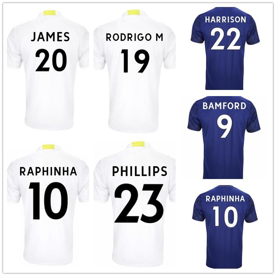 21-22 Hemma Soccer Jerseys Yakuda Lokal Online Store Dropshipping Accepted 2021 9 Bamford 10 Raphinha 17 Costa 19 Rodrigo M. 22 Harrison Fotbollskläder Män